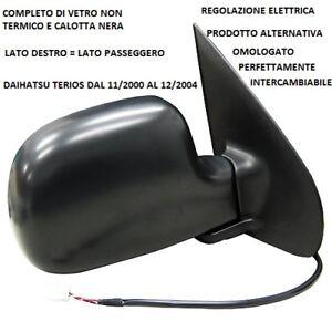 SPECCHIO RETROVISORE ELETTRICO DAIHATSU TERIOS 2000 2004 C/NERA DESTRO 96830