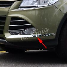 Front Bumper Side Trims FOR Ford Escape Kuga 2013-2016 Chrome Protection Cover