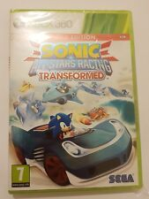 SONIC y All Stars Racing TRANSFORMED Xbox 360 pal España Nuevo y Sellado