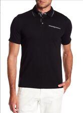 English Laundry Men's Cotton Short Sleeve Polo Shirt, Black, Size XL, NWT