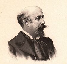 Portrait Luigi Loir Goritz  Nova Gorica  Peintre Peinture Illustrateur
