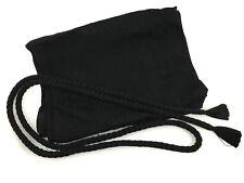 Vintage Japanese Formal Black Silk Mofuku Kitsuke Obiage & Obijime Set: May18C