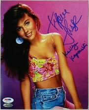 "Tiffani Amber Thiessen Signed ""Kelly Kapowski"" 8x10 Photo #6 PSA/DNA COA + Proof"