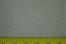 "By 1/2 Yd, 44"" Wide, Tan Herringbone &and Tiny Dots on Mini-Wale Corduroy, A153"
