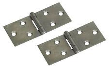 6 pack Intumescent Hinge Pads Strips Self Adhesive 100x31x0.8 mm Square Radius