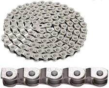 "YBN MK918 BMX 1/2 Half Link Chain 1/8"" x 102-link Single Speed Fixie SILVER 1900"