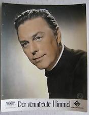 AF / lobby card  Der veruntreute Himmel 1958  Hans Holt Portrait  2.