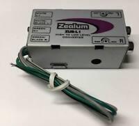 High Low Adapter Lautsprecher Signal Kabel Anschlüsse zu Cinch Wandler Converter