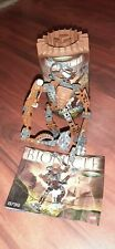 Lego Bionicles Bionicle #8739 Toa Horoika Onewa  Brown Canister complete