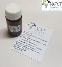Dental N-SPONGE Hemostatic antiseptic collagen sponge 30 pcs  with iodoform