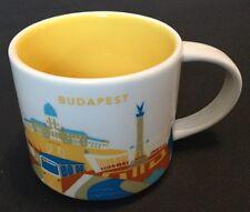 Starbucks Budapest Hungary YAH you are Here Coffee Cup Mug USA Seller With Box