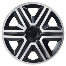 """4x15"""" Wheel trims wheel covers for Ford Transit Connect 15"""" silver/black"""