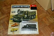 CAMIONS MILITAIRES N°2 GMC CCKW353 (1944) SERIE TEST 2020  NEW ALTAYA  NEUF
