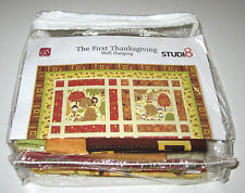 THE FIRST THANKSGIVING Wall Hanging Quilt Kit with 100% COTTON FABRIC