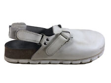 Alpro Clogs Professional Birkenstock Comfort Shoes White Sz 40 Women's 9 Men's 7