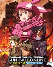 DVD Anime Sword Art Online Alternative Gun Gale Online (1-12 End + Special)