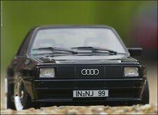 1:18 Tuning Audi Sport quattro Bj.1985 schwarz + Black Edition BBS RS Alufelgen