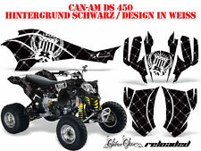 Amr décor Kit ATV CAN-AM renegade, DS 250, DS 450, DS 650 silver Kaiba B