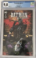 DC Batman Who Laughs #2 Suayan Cover Unknown Comics Variant CGC 9.8!!