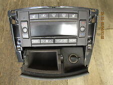 05 06 CADILLAC CTS HEATER AND AIR CONDITIONING CONTROL UNIT 21998814 AND BEZEL