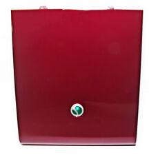 Original Sony Ericsson Akkudeckel Akkuabdeckung Batteriedeckel in Rot  für SATIO