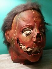 Vintage Custom Halloween Michael Myers Candy Corn Latex Mask OOAK Not Don Post