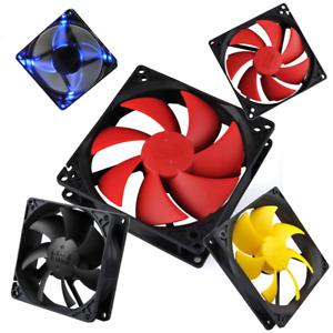 PC Cooler CPU Silent Computer Case Fan 7 / 8 / 9 / 10 / 12 /14 cm Fans Cooling