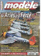 """MODELE MAG N°647 PLAN : """"BEBE"""" JODEL D9 / PLAN D'UN CHALUTIER VOLANT /P-47 DE TM"""