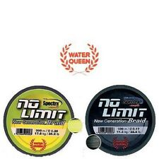 Tresse Water Queen No Limit 0,35mm 25.500kg 1200m jaune
