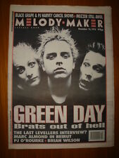 MELODY MAKER 1995 DEC 16 GREEN DAY PJ HARVEY MORRISSEY
