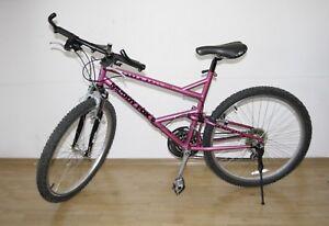 """Fahrrad  MTB  26"""",  21-G, Muddy Fox, Lila,  Herrenrad  -"""