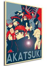 Poster Propaganda - Naruto - Akatsuki Characters