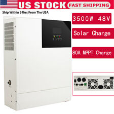 All-in-one 3500W 80A 48V Solar Charge Inverter Built-in Mppt Charge Controller U