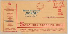 Czechoslovakia POSTAL HISTORY - Advertising Cover: TENNIS Ping Pong BOXING 1940