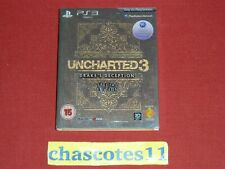 Uncharted 3 Drake's Deception Special/Collectors Edition Journal *RARE* PS3