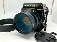 ✈FedEx【Nr MINT+++】 Mamiya RZ67 Pro II + Z 110mm f2.8 W + 120 back II From Japan