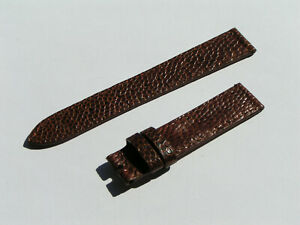 Jaeger-LeCoultre JLC BAND STRAP BROWN 16MM 16/14 70/110 NEW I1068