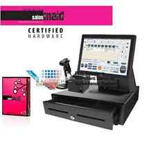 Elo 15E3 Beauty Salon Spa Pos Complete System with Maid Software Brand New