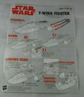 STAR WARS Hasbro Vehicle Manual  The Vintage Collection Y-Wing Fighter manual 11