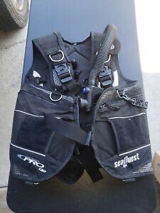 Aqua Lung seaquest pro qd Scuba Vest Size Small