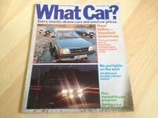 February What Car? Transportation Monthly Magazines