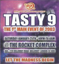 (RAVE FLYER 2003) TASTY / HONEYPOT @ THE ROCKET. LONDON. BILLY DANIEL BUNTER