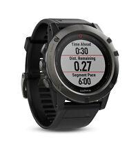 Garmin Fenix 5x Slate Grey Black Sports Running Cycling GPS