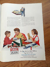 1955 GMAC GM General Motors Time Payment Plan Ad Cadillac Pontiac Olds Chevy?