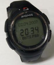 Sigma ONYX  FIT Puls Uhr - NEU