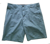 "HURLEY Men Size 36 Shorts blue flexible 21"" long NWT"