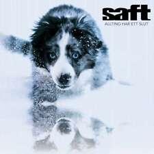 SAFT Allting har ett Slut CD 2019 (VÖ 08.02)
