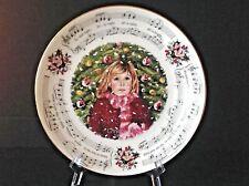 Vtg Royal Doulton 1983 Christmas Carols ''Silent Night'' Collector 8-1/4''Plate