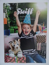 Steiff original/Baby Catalogue SPRING/SUMMER 2015. Anglais Text.135th Anniversaire