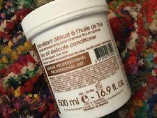 J.F. Lazartigue Tea Oil Delicate Conditioner 16.9 fl. oz. New - Salon Size